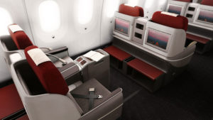 Businessclass Sitz in LATAM Boeing 787